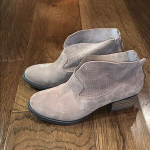 Jessica Simpson Suede Booties, Size 6
